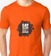 Eat Sleep Rave Repeat Product - Funny Party & Ravers Gift Unisex T-Shirt
