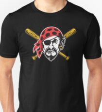 Angry Pirate Unisex T-Shirt