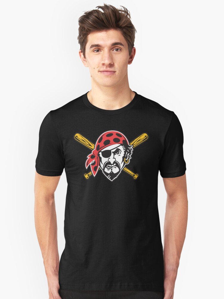 Angry Pirate Unisex T-Shirt Front