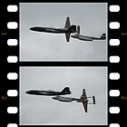 Two Shot-Canberra,Meteor,Vampire Formation,Temora 2008 by muz2142