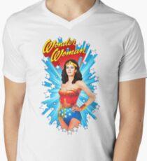 Lynda Carter Men's V-Neck T-Shirt