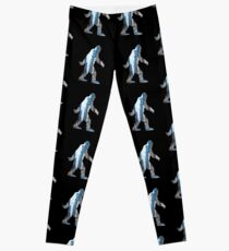 A Sasquatch Silhouette in New York City Leggings