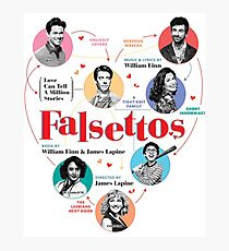 Falsettos 2016 Poster Photographic Print