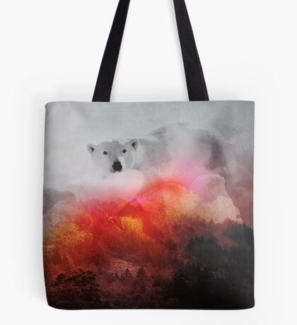 Pyre Bear Tote Bag