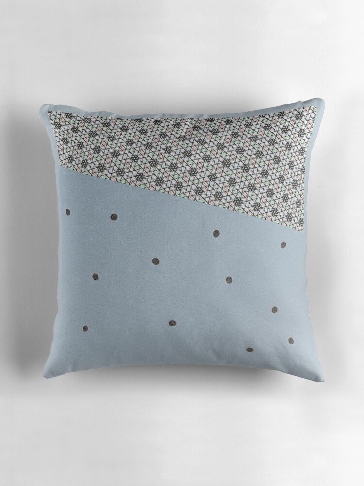 Modern Blue Pillows :