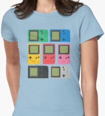Gameboy Pocket (black) Womens Fitted T-Shirt