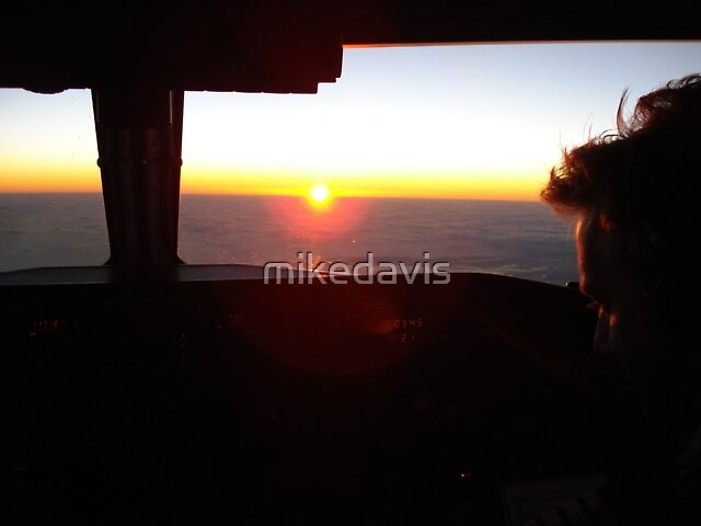 Sunrise over the Desert by mikedavis
