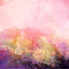 Abstract Landscape—Pink by katmakesthings