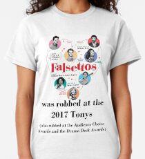 FALSETTOS WAS ROBBED Classic T-Shirt