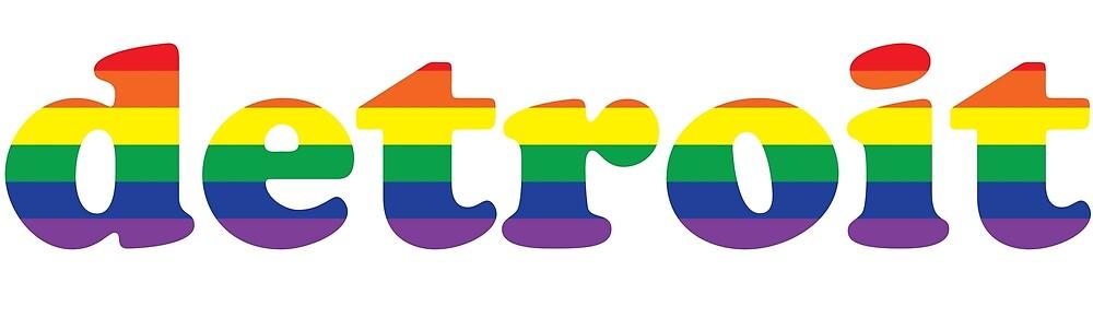 Detroit Gay Pride by deadregards