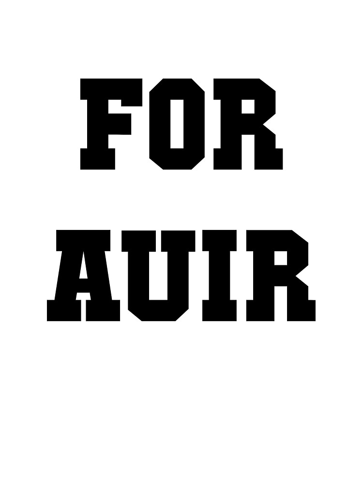 FOR AUIR by wolfhammer