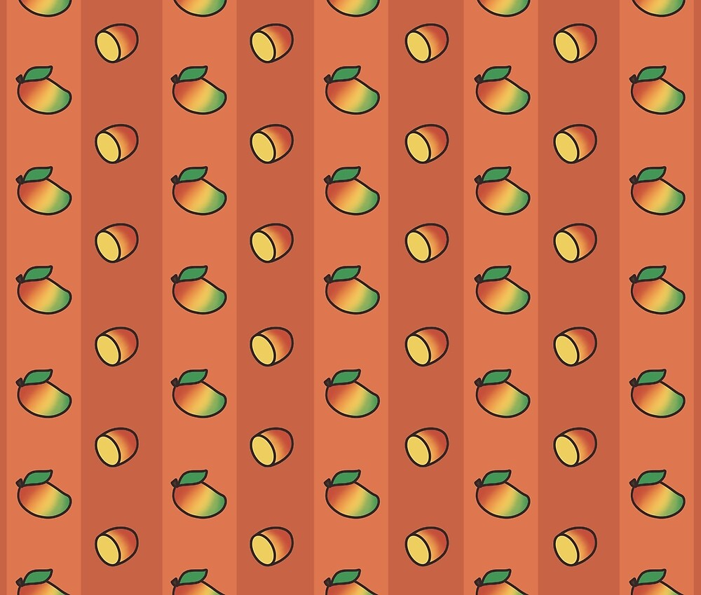 Mango Madness - Orange by Kayanna Farmer
