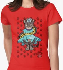 thesweatercats - Purrincess Luna Womens Fitted T-Shirt