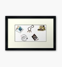 Item bar (LIS) Framed Print