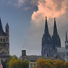 Aspiring Spires in Cologne by Larry Lingard-Davis