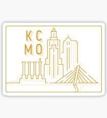KCMO Skyline Sticker