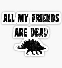Stegosaurus T Shirt  Sticker