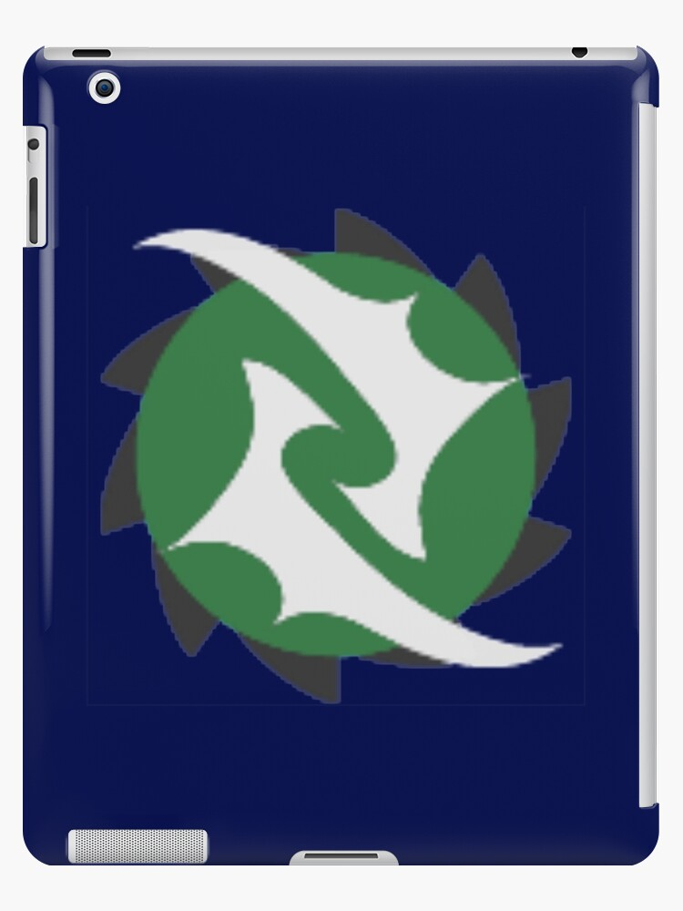 'Emblem (Rune)' iPad Case/Skin by spartan4279