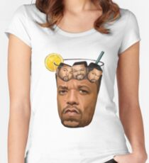 Ice Tea and Ice Cube Shirt Women's Fitted Scoop T-Shirt
