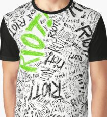 RIOT! (Green) Graphic T-Shirt