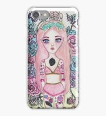 Pastel Garden iPhone Case/Skin