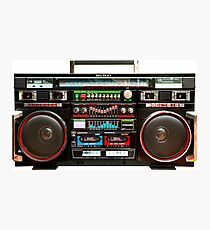 Huge Boombox Ghetto Blaster Photographic Print
