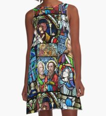 Classics 4. Stained glass A-Line Dress