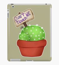 Don't Touch Me  iPad Case/Skin