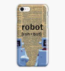 Flight of the Robots  iPhone Case/Skin