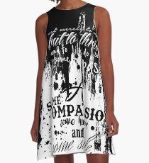 My Mission....Maya Angelou A-Line Dress