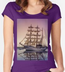 Sail Boston -Guayas Women's Fitted Scoop T-Shirt