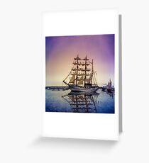 Sail Boston -Guayas Greeting Card