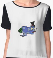 ButtFish Chiffon Top