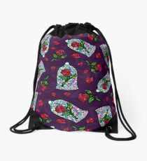 Rose of Enchantment Drawstring Bag
