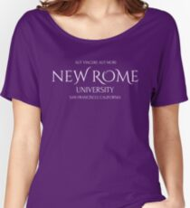 New Rome University Women's Relaxed Fit T-Shirt