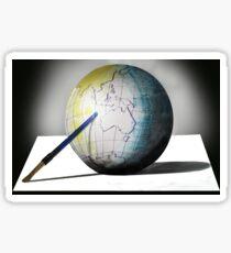 Anamorphic World Sticker