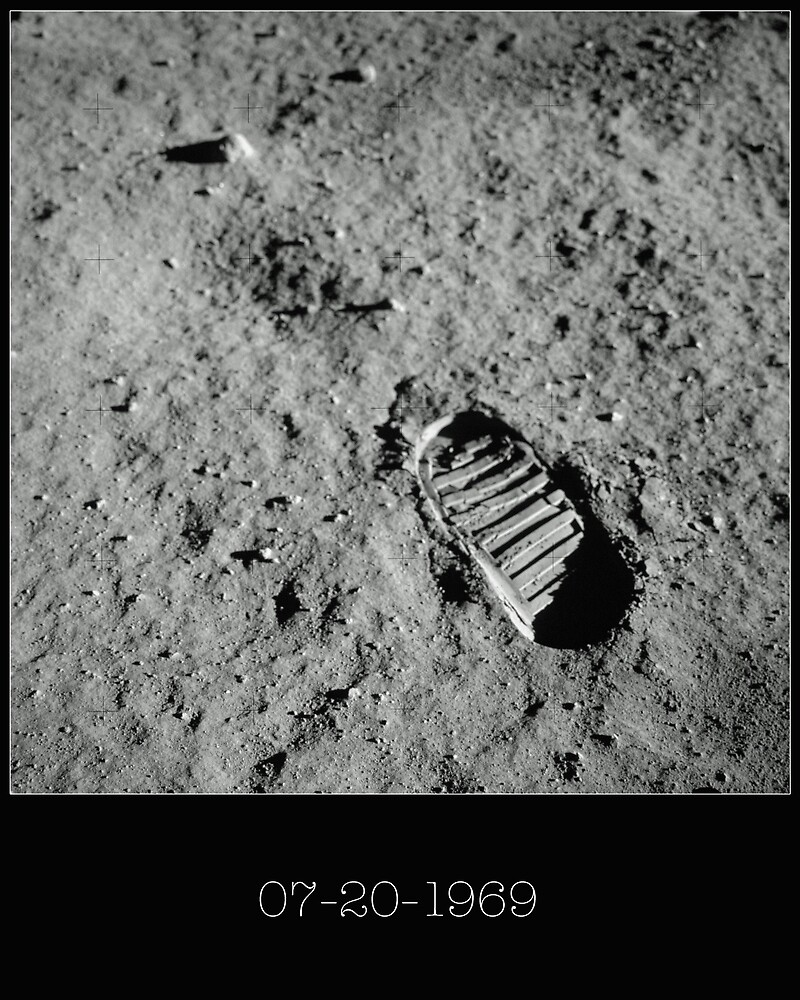 Neil Armstrong Footprint by aocimages