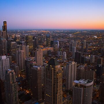 Chicago Sunset by alliejgoulding