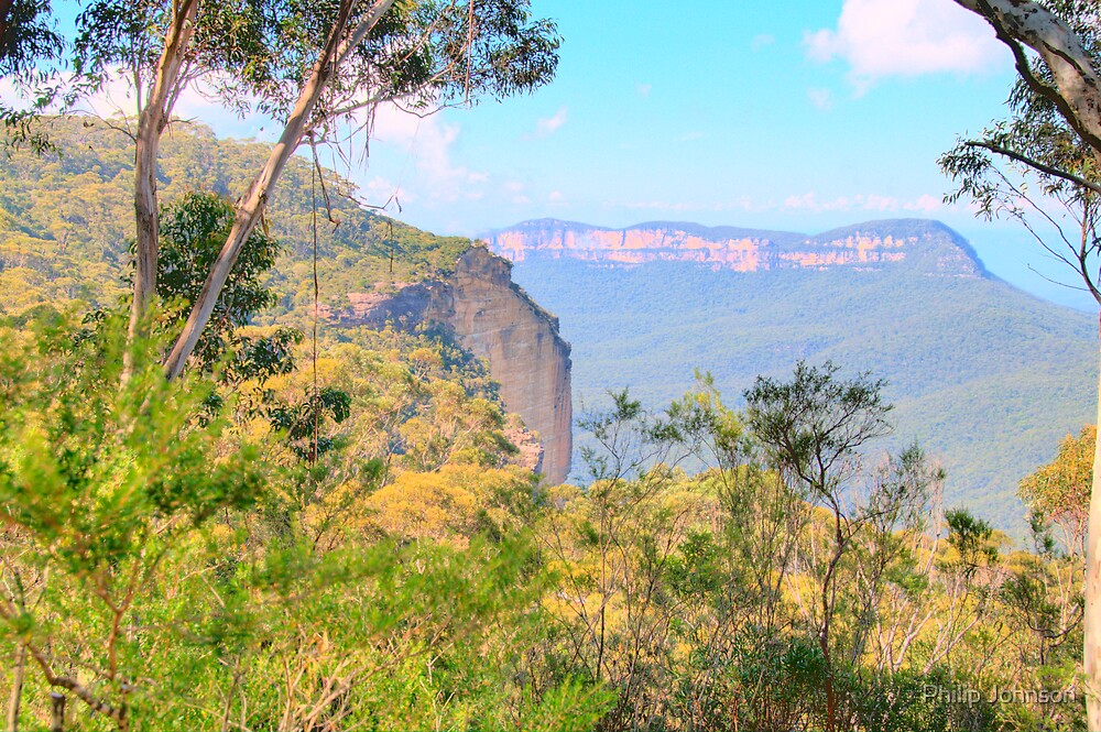 Megalong Dreaming - The Blue Mountains HDR Series, Katoomba, NSW by Philip Johnson