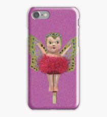 Cute Kewpie - Pink Background iPhone Case/Skin