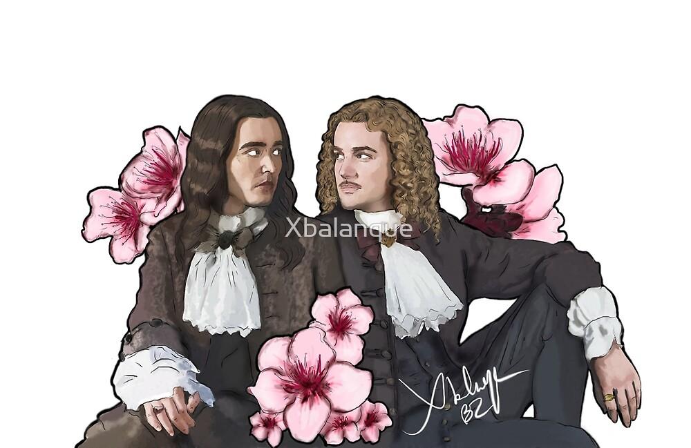 Philippe d'Orléans & Philippe de Lorraine by Xbalanque