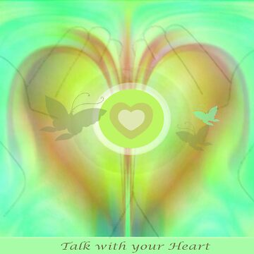 Compassion - Talk with you Heart by AngelaVanBoxtel