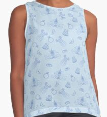 Magical Bride All Over Print - Blue Contrast Tank