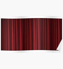 Twin Peaks Curtain room Poster