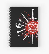 Cuaderno de espiral Elije tu arma