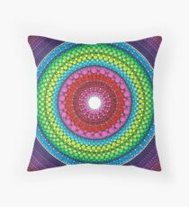 Mandala of Inner Peace Throw Pillow