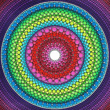 Mandala of Inner Peace by ElspethMcLean