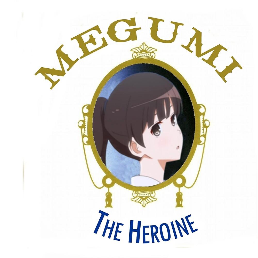 Megumi Kato - The Heroine (Saekano) by fullmoonzer0