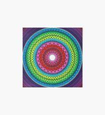Mandala of Inner Peace Art Board