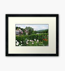 The Bridge of Flowers over the Deerfield River  Framed Print